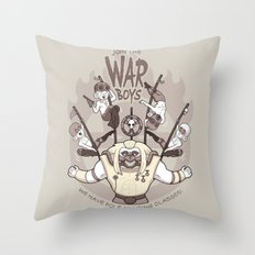 Join the War Boys! Throw Pillow