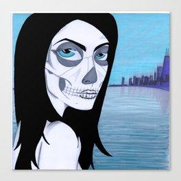 La Muerta Canvas Print