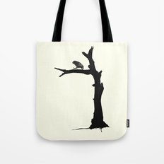 The Little Owl In The Tree Tote Bag