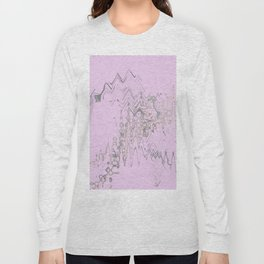 Another weird blurry and shaky colorful shapes hovering over weird wall Long Sleeve T-shirt