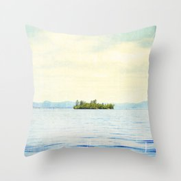 Greetings from Nowhere 0.1 Throw Pillow