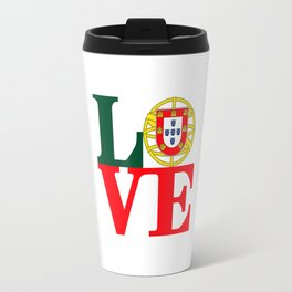 Love Portugal Travel Mug
