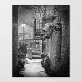 Bleak Midwinter Canvas Print