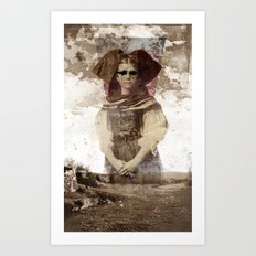 She Was the Light of the World Art Print