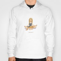 yoga Hoodies featuring Yoga by Tamara Rouwendal