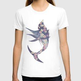 floral fish T-shirt