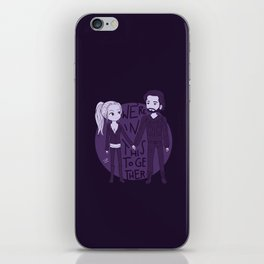 We're in this together iPhone Skin