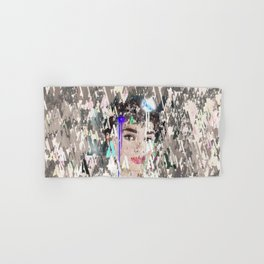 Audrey Type Abstract Art Hand & Bath Towel