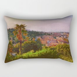 Firence - View From The Piazzale Michelangolo Rectangular Pillow