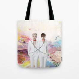 Chained Up Hyuken Tote Bag