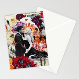 la dolce vita collage Stationery Cards