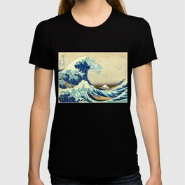 The Great Wave Off Kanagawa Katsushika Hokusai T-shirt