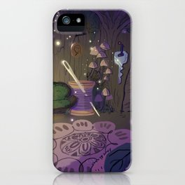 Tinkerbell's Boudoir iPhone Case