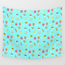 Carnies Pattern Wall Tapestry