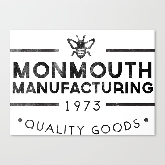monmouth manufacturing Canvas Print