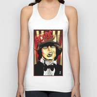 acdc Tank Tops featuring Rockarture ACDC by JHC Studio