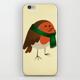 The Robin's new scarf iPhone Skin