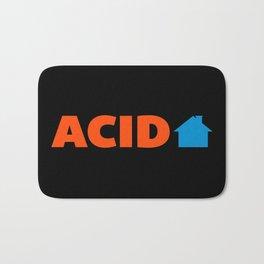 Acid House Music Quote Bath Mat