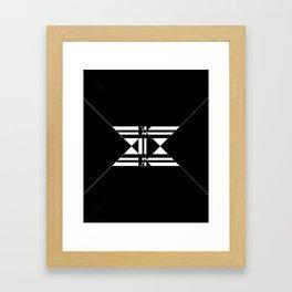 X marks the spot Framed Art Print