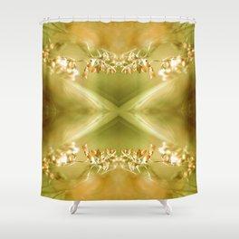 GOLDEN SPANGLES Shower Curtain