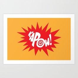 KAPOW! Art Print