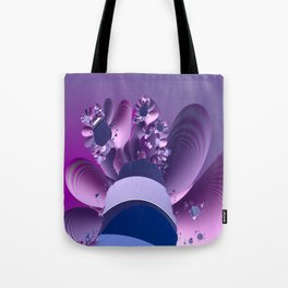 Abstract cactus blooming Tote Bag