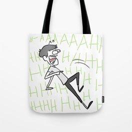 scared minhoe Tote Bag