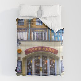 The Punch And Judy Pub Covent Garden Comforters