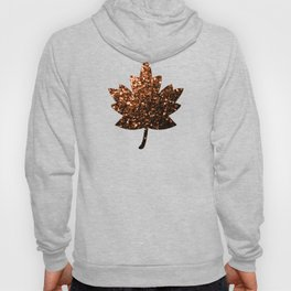 Beautiful Bronze Orange Brown glitters sparkles Hoody