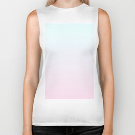 Color gradient 6. Pink and blue.abstraction,abstract,minimalism,plain,ombré Biker Tank