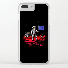 Twitch Science Week Clear iPhone Case