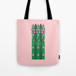 Vegetable: Asparagus Tote Bag