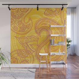 Paisley Juice Wall Mural
