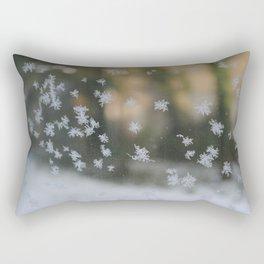 "It's frosty ""Ice Flower"" #1 #art #society6 Rectangular Pillow"