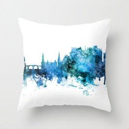 Stirling Scotland Skyline Throw Pillow