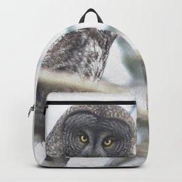 Let Us Prey - Great Grey Owl & Mouse Backpack