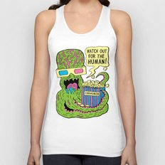 Alien Monster Movie Unisex Tank Top