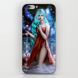Space Goddess iPhone Skin
