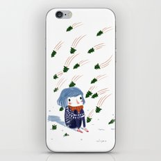 shooting trees iPhone & iPod Skin