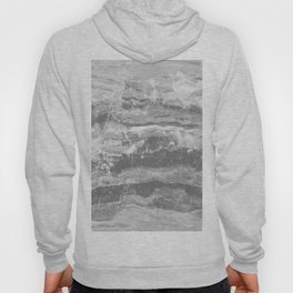 Real Gray Marble Hoody