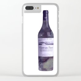 Bottled universe Clear iPhone Case