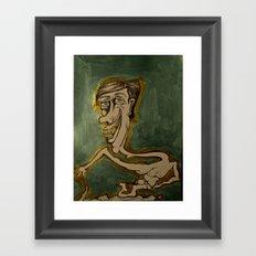 The Inside Man Framed Art Print