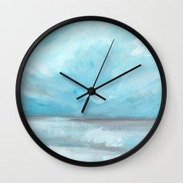 Whirlwind - Stormy Ocean Seascape Wall Clock