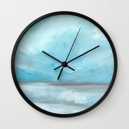 Whirlwind - Stormy Ocean Seascape Wall Clock