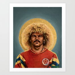 CV - Football Icon (1990) Art Print