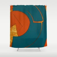 scorpio Shower Curtains featuring Scorpio by Fernando Vieira