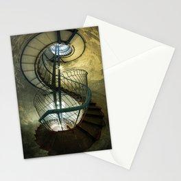 Inside the old lighthouse Stationery Cards