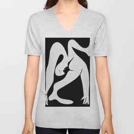 Picasso - Black and White #1 Unisex V-Neck