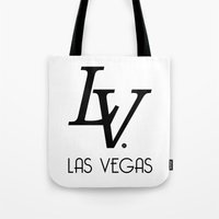 lv Tote Bags featuring LV by Joe Alexander