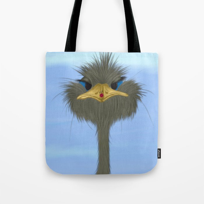 George And His Visitor Tote Bag